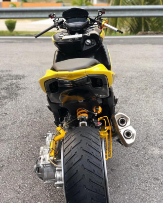 NVX 155 lột xác ngoạn mục với phong cách siêu mô tô cá tính