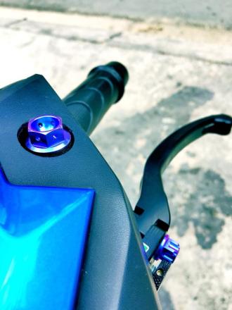 Honda Click 125 độ bánh căm tay ga phong trào cá tính