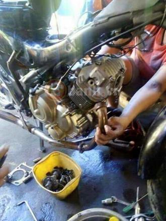 Raider R150 độ ngược đời thành 125cc - SOHC phong cách