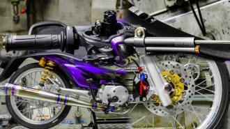 Xe Wave Alpha độ đẹp nhất được trang bị những món đồ chơi cá tính