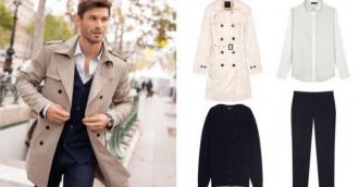 Cách chọn áo khoác măng tô nam mạnh mẽ