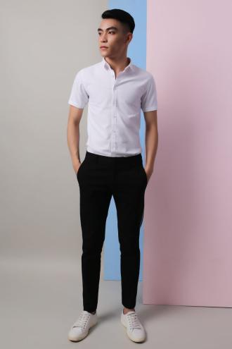 Hướng dẫn chọn áo sơ mi tay ngắn phù hợp cá tính cho chàng