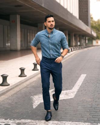"""5 cách phối đồ """"cực phong độ"""" giúp chàng công sở thêm phong cách"""
