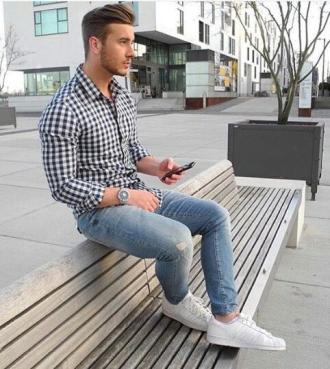 5 gợi ý phối đồ cùng áo sơ mi ca rô gingham cho chàng thêm trẻ trung phong cách