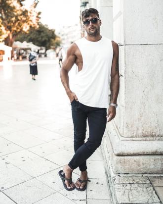 6 ý tưởng phối đồ nam tính cho chàng cuối tuần dạo phố thêm phong cách