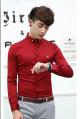 Áo sơ mi Hàn Quốc màu đỏ đẹp rực rỡ, nỗi bật