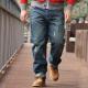 Mẹo chọn quần jean cho chàng béo mạnh mẽ