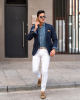 3 kiểu quần jeans phối với áo blazer đẹp phong cách nhất
