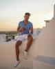 5 tips phối quần short trắng cực trẻ trung phong cách từ Jonas Maier